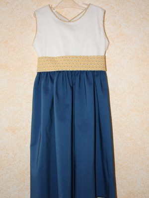 robe cortège marine