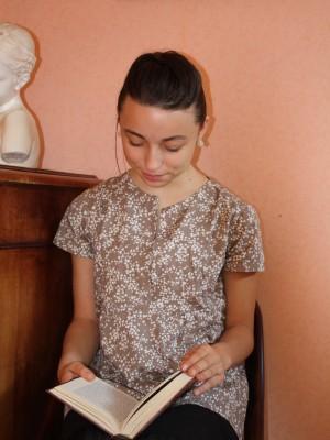 blouse citronille