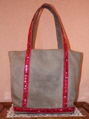 sac cabas gris style vanessa bruno